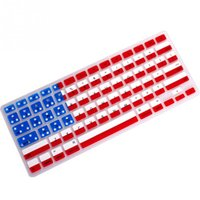 clavier coloré en silicone achat en gros de-2018 Silicone Laptop Keyboard Cover Film de protection Film de clavier coloré pour Macbook Pro 13/15/17 pouce