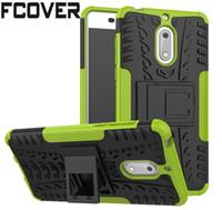 telefone 3.2 venda por atacado-Para nokia 4.2 2 3 4 5 6 8 / nokia 3.2 / nokia 2.2 difícil case híbrido tpu + PC Armor Stand Silicon protetora shell Slim Telefone tampa traseira