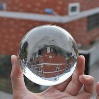 ingrosso vendita di palline di cristallo di quarzo-60/70/80/90 / 100mm rare chiaro naturale sfera di cristallo di quarzo sfera sfere di vetro di cristallo in vendita fengshui palla per la decorazione domestica