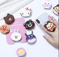 niedliche telefonhalter großhandel-Handyhalterung Cute Dolls Airbag Telefon Erweiterung Stand Finger Halter