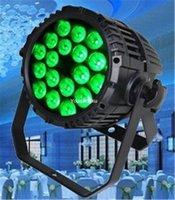 impermeabilizacion led par puede al por mayor-12 piezas 5 en 1 impermeable led par 18x15w impermeable al aire libre par puede rgbwa