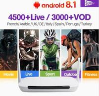 Wholesale 1 yesrs Q9 IPTV Arabic France Rk3229 Quad Core Android Tv Box Receiver Android k SUBTV Full HD Live Portugal IPTV Subscription IPTV