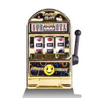 Wholesale Game Slot Machine - Jackpot Fruit Lucky Slot Machine Children Toy Gift Creative Cartoon Mini Game Machines Wins Bars Novelty Games 2 94lh C
