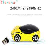 Wholesale usb optical scroll mouse resale online - Mouse Raton GHz DPI Car Shape Wireless Optical Mouse USB Scroll Mice Computer Professional For PC Laptop Aug2