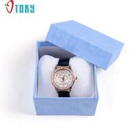 Wholesale unique shipping boxes - OTOKY Unique Gift Box Wristwatch Box for Watch Original Watch Paper Drop ship F20