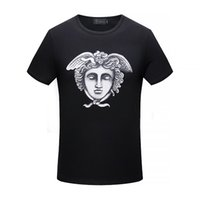 NUOVO 2018 Marca T Shirt Uomo Camicie Manica Corta Giacca di Cotone Colletto T-Shirt Casual Tops Tees Homme Hiphop Tshirt Ragazzo Camisetas V16860