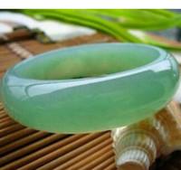 ingrosso pietra verde cinese-65 millimetri Beautiful Green Natural Stone BRACCIALI cinese di trasporto