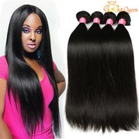 Wholesale 100 brazilian human hair - Grade A Mink Brazilian Straight Hair Unprocessed Brazilian Virgin Human Hair Weave Bundles Brazilian Virgin Hair Straight