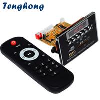 decodierbrett mp3 großhandel-Verlustfreies Bluetooth MP3 Decoder Board DC5V Audio Decodierungsmodul FM Radio WAV WMA FLAC APE MTV HD Video Player DIY