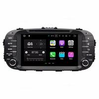 coche dvd gps kia al por mayor-1024 * 600 Android 7.1 Quad Core Radio de coche DVD Reproductor multimedia GPS Coche DVD para Kia Soul 2014 2015 2016 con Bluetooth WIFI Espejo enlace