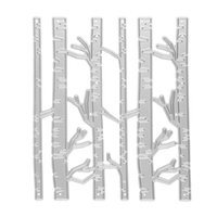 Wholesale Birch Tree Branch Cutting Dies Stencils for DIY Scrapbooking Metal Paper Cards Embossing Decorative Craft