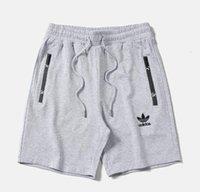 pantalon de jogging européen achat en gros de-Nouveau pantalon de jogging impression en trois dimensions des sports classiques européens et américains shorts de sport de grande taille M - 3XL livraison gratuite
