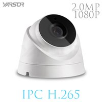 Wholesale Wireless Security Camera Outdoor Dome - H.265 IP Camera 2MP ONVIF 1080p Outdoor Indoor Waterproof Night Vision Dome Camera IR-CUT Filter Home Security