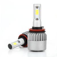 Wholesale h11 led bright white bulbs for sale - 2Pcs Car Auto LED Headlight Lights Bulbs Lamps Kit S2 H4 H13 H11 Fog Light K Anti dust Single Bright