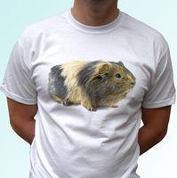 engraçado bebê animais venda por atacado-Cobaia Branco T Shirt Animal Tee Design Top - Mulheres / Mens Crianças Tamanhos Grande Qualidade Engraçado Homem de Algodão Frete Grátis