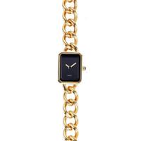 c cadenas al por mayor-Reloj de lujo de las mujeres H3250 Rose Gold Octagon Case C Relojes para mujeres Pulsera de cadena Relojes de pulsera Envío gratis