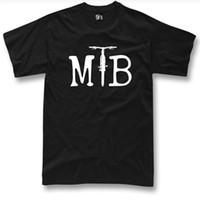 Wholesale fashion bike shorts - MTB T-shirt Bike Bicycle Mountain bike Cycling Rider track downhill tshirt