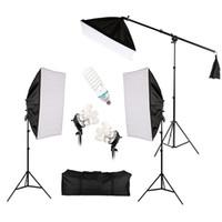 vidéos de produits achat en gros de-Photo Studio Kit d'éclairage Photographie Studio Portrait Produit Kit de tente de lumière Équipement photo-vidéo avec sac Oxford