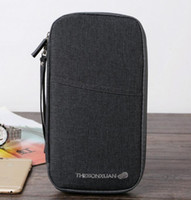 Wholesale protective case for id card for sale - Group buy Passport Holder Travel Wallet ID Card Cover Case protective Wallet For Passport US Document Organizer for women men nt