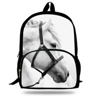 Gepäck & Taschen Kinder- & Babytaschen 14 Inch Heißer Verkauf Kinder Schule Rucksack Für Jungen Mädchen Tier Zebra Pferd Tasche Für Kinder Geschenk