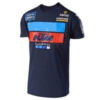 motocross nuevo al por mayor-2018 New Go pro Camiseta de manga corta de moto para Motocross jersey Camiseta de verano de montaña del campo TF FF
