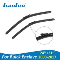"Wholesale buick enclaves - BAOLUO Windshield Wiper Blades For Buick Enclave 24""+21"" 2008-2017 High Quality Soft Natural Rubber Windscreen Car Accessories"