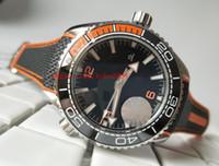 vigilancia del océano de lujo al por mayor-Reloj de lujo Classic Series IS Factory 42mm 45mm Planet Ocean Co-Axial 600M 215.32.44.21.01.001 CAL.8500 Movimiento Mechanical Relojes para hombre