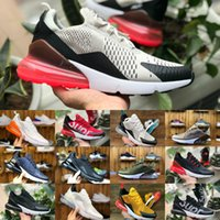 Wholesale leather tassels for sale - Sales 2018 New Original vapormax 270 Running Shoes For 270S Basketball Black White Blue Shock Off Sneakers Women Mens plus Requin Chaussures