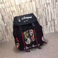 ingrosso zaini per ricami-Tigre Ricamo Techpack con borsa da viaggio a tracolla zaino da uomo di design designer borsa da viaggio di lusso