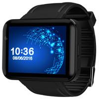 smartwatch wifi großhandel-Smart Watch DM98 Smart Watch Android 2.2 Zoll Großbildschirm 320 * 240 MTK Dual Core 1.2G 900mAh mit WIFI 3G GPS Smartwatch PK I5s S3