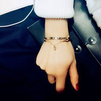 Discount beauty gifts for girls - H:HYDE Fashion Bangles Beauty Necessity Heart Jewelry Bracelet Bangles Women Girl Lady Best Gift For Christmas Valentine's Day