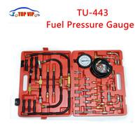 ingrosso miglior motore bmw-2017 Miglior Prezzo TU-443 Misuratore di Pressione del Carburante Kit di Test del Motore TU443 Tester Pompa di Iniezione del Carburante TU 443 con Custodia di Trasporto al dettaglio