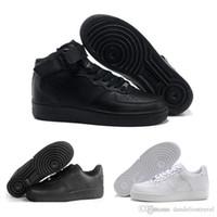 cut shoes al por mayor-2017 New One Flyline Zapatos para correr Deportes Skateboarding Dunk Hombres Mujeres Unos Zapatos High Low Black Corte al aire libre Blanco Zapatillas de deporte