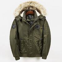 Wholesale mens chain length resale online - Medium Length Wool Cap Mens Winter Jacket Loose Type Mens Designer Winter Coats Side Seam Pocket Winter Jacket Men