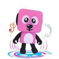 Wholesale Multi Speaker - 2018 Mini Bluetooth Dancing Speaker Smart Dog New Multi Portable Robot Hands Free Creative Gift Cradle