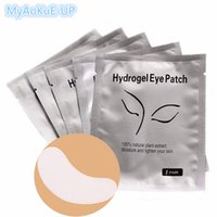 Wholesale extension eye patch for sale - Group buy 100pairs Hydrogel Eye Pads Eyelashes Patches Makeup Tools Eyelash Extension Lashes Cosmetic Tools