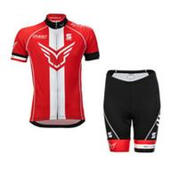 чувствовать велосипеды оптовых-Войлок команда Велоспорт Джерси нагрудник шорты с коротким рукавом Ropa Ciclismo 2018 горный велосипед одежда дышащий мужской велосипед спортивная 82002Y