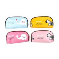 мешок для животных оптовых-Hot New Cute Cartoon Animal Pencil Case Pencil Box Student Pen Bag Purse School Supply Cosmetic Pouch  Bag