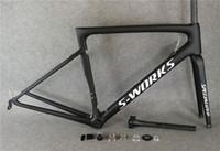 karbon çerçeve yol bisikleti 54cm toptan satış-Siyah SL6 karbon bisiklet çerçeve Tam karbon fiber Yol Bisikleti çerçeve yol bisikleti bisiklet çerçeve kadro velo carbone satmak