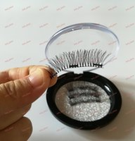 Wholesale B C Printing - no logo Recycling Magnet false eyelashes 3 Magnet in 1 Cotton stalk strong magnetic Not easy to drop welcome print your logo
