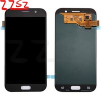 Wholesale Ds Bar - For Samsung Galaxy A5 2017 A520 A520F A520F DS Original LCD Display Touch Screen Digitizer Assembly Free Shipping DHL 2 years warranty