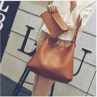 Wholesale Christmas Fund - Hot style female bag shoulder bagof PU leather brief vogue of new fund of 2017 autumn bag large capacity lash package
