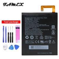 Wholesale tab batteries - L13D1P32 New High Quality Battery For Lenovo Lepad Tab A8-50 A5500 S8-50 TAB 3 Tab3 8 inch TB3-850F TB3-850M 4290mAh + Tools