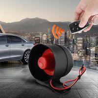 araç güvenlik alarm sistemi toptan satış-Sıcak satış 1-Way Araba Alarmı Araç Sistemi Koruma Güvenlik Sistemi Anahtarsız giriş Siren + 2 Uzaktan Kumanda Hırsız DDA304