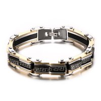 Wholesale bracelets mix order for sale - Group buy valentine s day gift mixed order brand new men s stainless steel bracelet boy s bracelets fashion jewelries factory supplier G