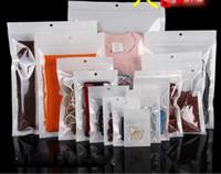 telefonzubehör geschäfte großhandel-Weißer Zip-Verschluss Handyzubehörfallkopfhörereinkaufsverpackungstasche OPP PP PVC Poly-Plastikverpackungsbeutel