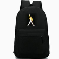 рюкзак рок оптовых-Фредди Меркьюри группа Queen певица рюкзак Рюкзак рок-музыка школьный досуг рюкзак спортивная школа сумка открытый рюкзак