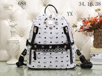 Wholesale Name Brand Backpack - 2018 styles Handbag Famous Designer Brand Name Fashion Leather Handbags Women Tote Shoulder Bags Lady Leather Handbags Bags purse 688