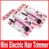 Wholesale Electric Trimmer For Ladies Hair - Powered By Battery Mini Ladies Electric Epilator Body Bikini Hair Trimmer Eyebrow Leg Hair Shaver for Women