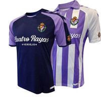 Wholesale 18 spain LIGA Real Valladolid home away soocer jersey Real Valladolid football jerseys Jaime Mata Michel Guitan Hervias